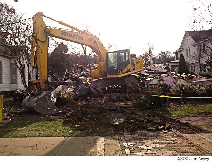 Historic Davis House on Randolph razed