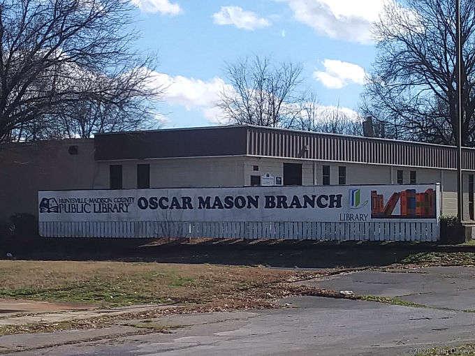 Oscar Mason Center library branch was a cultural addition to Mason Court