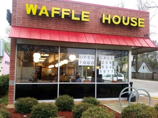Corona Virus - The Waffle House in Five Points is taking carryout orders.