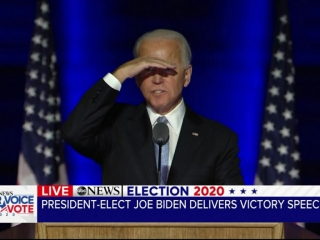 China Joe Prematurely Declares Victory