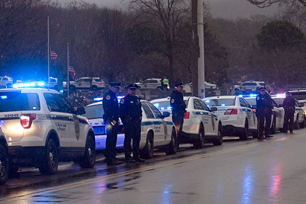 The Funeral Of Officer Billy Fred Clardy III