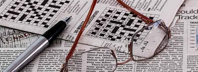 Sharpen your crossword pencil...