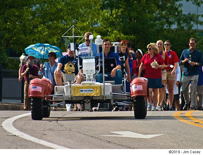 Apollo 11 50th Anniversary - The Lunar Rover on Parade