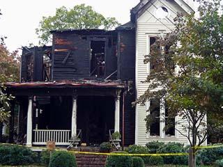 Randolph Ave Davis House Fire