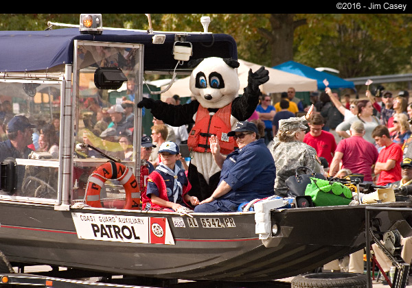 Check this out. I think it's some kind of new Chinese warfare because I been fishing alot and never had a Panda bear along. Better keep and eye on this guy.